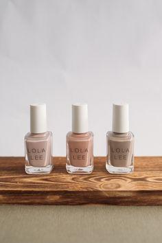 Lola Lee Nail Polish Gel Polish Colors, New Nail Polish, Lee Nails, Nail Accessories, Soak Off Gel, Pallet, Neutral, Spa, Nail Art