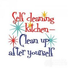 Please Clean Up After Yourself Sign Kitchen