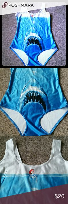 Jaws Ariel bathing suits Spandex medium, never swam in. Save $ bundle! unknown Swim One Pieces