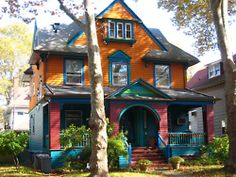hippie house; love a colorful home. Wow, I so want this ASAP!