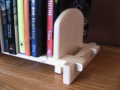 Bookends that actually hold books   Woodworking for Mere Mortals