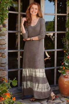 B'call Dress - Soft Dress, Comfort Dress, Slub Knit, Scoop Neckline Sweater | Soft Surroundings