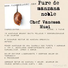Pure de manzana Noble