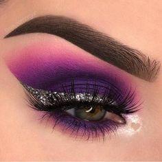 #EyeMakeupCutCrease Glam Makeup, Makeup Inspo, Makeup Art, Makeup Inspiration, Makeup Tips, Hair Makeup, Fun Makeup, Party Makeup, Makeup Eye Looks