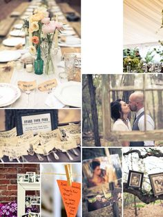 A style savvy wedding resource devoted to the modern bride's journey down the altar with gorgeous real weddings, vendor recommendations and much more! Wedding Planning, Wedding Ideas, Vintage Diy, Place Setting, Just Married, Marry Me, Antique Gold, Sage, Real Weddings