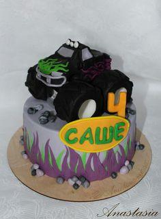 Monster Truck cake Торт Монстр Трак Торт машина
