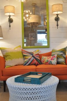 Eclectic color combos! #colorcoma #pillowpop