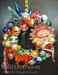 """Christmas Joy"" Wreath ©Glittermoon Productions LLC"