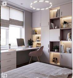 Study Room Design, Study Room Decor, Small Room Design, Home Room Design, Kids Room Design, Dream Home Design, Home Office Design, Home Interior Design, Kids Bedroom Designs