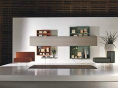 Bibliothèque Lagolinéa derrière dressing ET VOILA #lago #interiordesign #arlydesign #vert #green #mettezduvertdansladéco