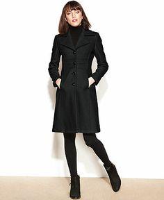 black Nine West coat