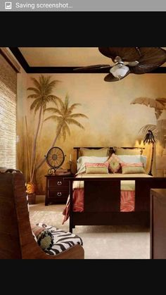 Bedroom british colonial
