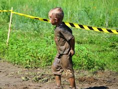 The au naturale mud look (2014 Family Course)