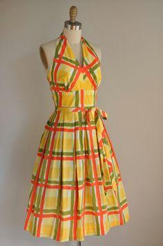 Cotton dress sold on Etsy Casual Day Dresses, Old Dresses, Pretty Dresses, Beautiful Dresses, Classic Dresses, Vintage Party Dresses, Vintage Outfits, Vintage Fashion, Edwardian Fashion