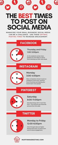 Post at These Timings to Get the Best Social Media Traction