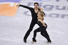 Madison Hubbell and  Zachary Donohue of United States compete in the Ice Dance Short Dance during ISU Four Continents Figure Skating Championships - Gangneung -Test Event For PyeongChang 2018 at Gangneung Ice Arena on February 16, 2017 in Gangneung, South Korea.
