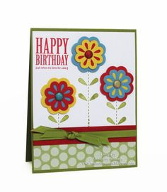 Use of Stampin' Up! layer punch