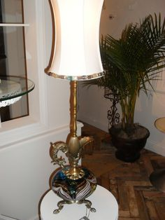 this lamp would be a great talking piece in your space to grab a person's attention