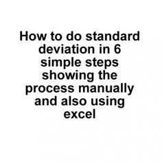 Standard Deviation  How And When To Use The Sample And Population