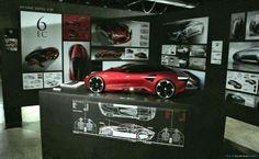 Alfa Romeo 6EC proposal by Hyung Dong Kim (Art Center)