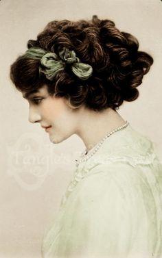 "Vintage Photograph ""Sadie"" Digital Image - Commerical Use Lilie Elsie, Vintage Photographs, Vintage Images, Best Beauty Tips, Beauty Hacks, Edwardian Fashion, Vintage Fashion, Edwardian Era, Merry Widow"
