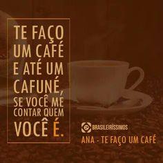 Te faço um café