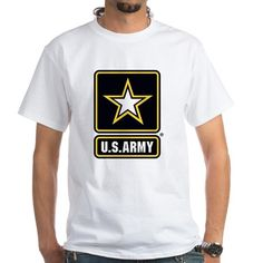 US Army T-Shirt #UnitedStatesArmy #Army  #SupportourTroops  #ArmyStrong #SupportourMilitary #USA Lots of products  For this design click here --  http://www.cafepress.com/dd/97172155