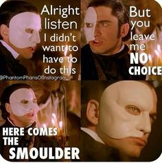 Tangled meets Phantom of the Opera...I don't know why but this totally made me LOL just now. Two very good movies, take the time to see both! :)