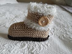 Ravelry: Baby Booties pattern by Marilyn Ireland