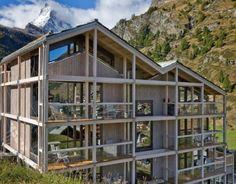 Das Superior Design Hotel in Zermatt Zermatt, Design Hotel, Hotels, Hotel Reviews, My Dream Home, Mid-century Modern, Shed, Outdoor Structures, Cabin