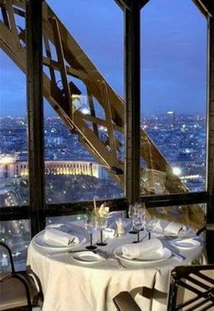 Luxury Dining Eifel Tower Paris | Via ♕◆LadyLuxury◆♕