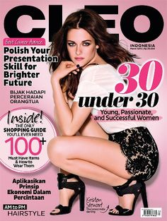 CLEO Indonesia March 2015 - #KristenStewart + Shopping Guide Booklet