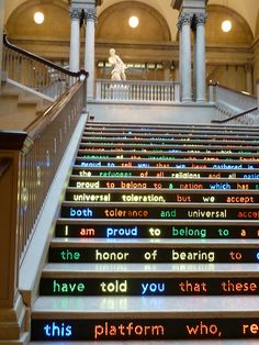 Does not matter how many times I've been there. I cannot visit chi without spending some hours in the art institute Chicago Vacation, Chicago Travel, Travel Usa, Chicago Trip, Barack Obama, Michigan, Stair Art, Visit Chicago, The Second City