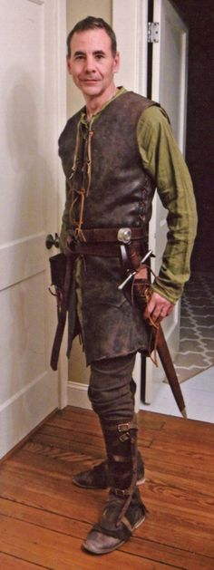 Medieval Woodsman outfit 2015.