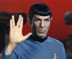 """wore this tunic in the episode """"The Apple"""" in season 2 of Star Trek ...Goodbye Spock (Leonard Nimoy) You were great."""