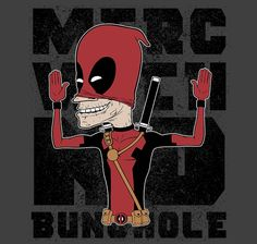 Merc with No Bunghole T-Shirt $11 Deadpool tee at RIPT today only!