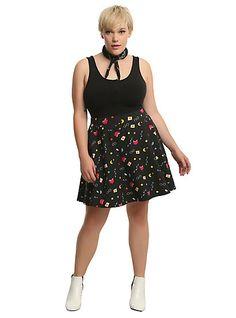 Harry Potter Icons Circle Skirt Plus SizeHarry Potter Icons Circle Skirt Plus Size,