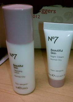 Boots No. 7 Beautiful Skin Night Cream and Cleansing Lotion