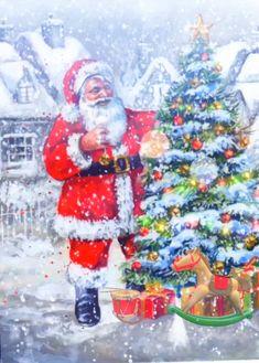 Christmas Home Videos Cartoon Merry Christmas Animation, Merry Christmas Gif, Merry Christmas Pictures, Christmas Scenery, Christmas Music, Christmas Greetings, Winter Christmas, Christmas Time, Vintage Christmas