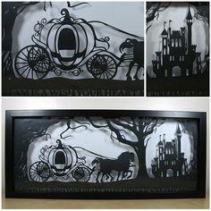 Cinderella's Dream Papercut