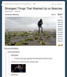 Community Post: 21 Times Tumblr Was So Punny It Hurt.Anything with banana just say that