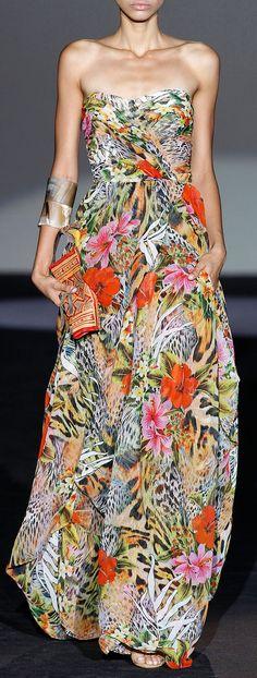 http://www.trendzystreet.com/clothing/dresses - Roberto Verino, S/S 2014.