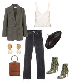 """""""Saturday"""" by gamu-nhengu ❤ liked on Polyvore featuring Theyskens' Theory, Alexander Wang, Étoile Isabel Marant, Simon Miller, Calvin Klein Collection and Chloé"""