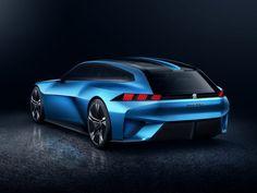Peugeot previews Instinct Concept shooting brake
