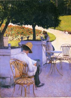 Gustave Caillebotte was a French painter, member and patron of the group of artists known as Impressionists, though he painted in a much more realistic manner than many other artists in the group.