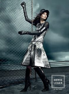 The Gossip Wrap-Up!: Ad Campaign: Hervé Léger by Max Azria Fall 2013
