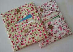 carteira de tecido