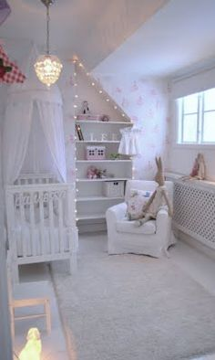 Such a beautiful nursery!