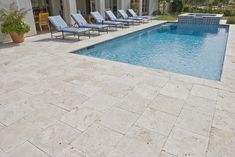Outdoor Travertine Pavers | Home / Classic Travertine Pavers - 200x400x30