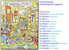 Me encanta escribir en español: Gaturro: ¡Qué desorden!